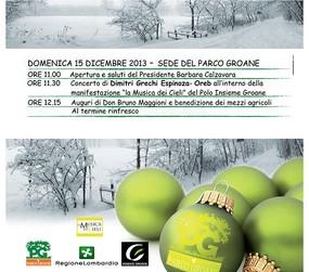 Natale al Parco Groane con le Guardie Ecologiche Volontarie