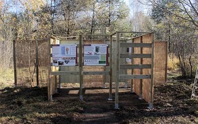 Osservatorio per lo scoiattolo rosso: installazione compiuta!