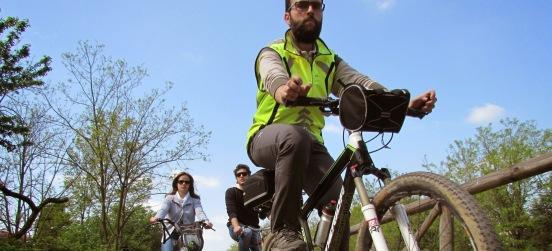In bici dal Parco verso Expo su Let 1