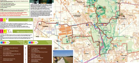 La nuova cartina del Parco… con Expo e Let1