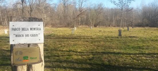 Tre nuovi alberi nel Bosco dei Giusti