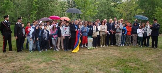 La quinta edizione della cerimonia del Bosco dei Giusti