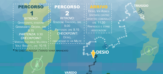 "Sabato 30 la biciclettata Nexus: ""Da Parco a Parco"""