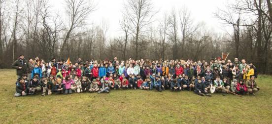 La carica dei 200 scout al Centro Parco