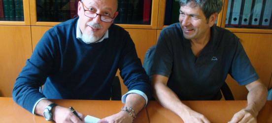La firma sul protocollo Groane-Grugnotorto