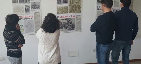 Fino al 21 febbraio la mostra sulla Brigata ebraica