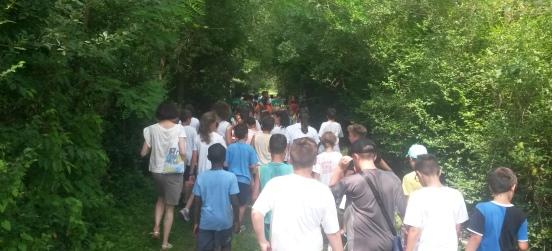 Tour avventura con le scuole nel Parco Groane