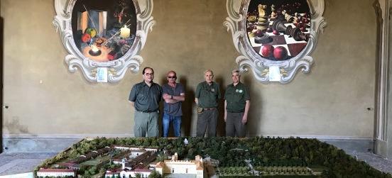 Riapre Villa Arconati…col nostro plastico