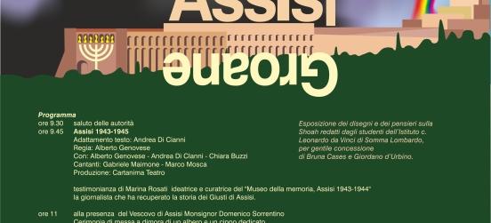 """Assisi-Groane: il """"giorno della memoria"""" il 21 gennaio"""