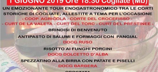 """La nona edizione di """"Corti e Sapori"""" a Cogliate"""