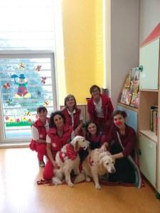 le nostre operatrici di Pet Therapy-1