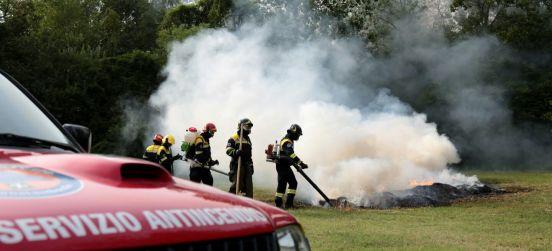 Termine periodo ad alto rischio di incendio boschivo
