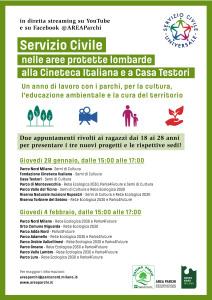 Locandina presentazione SCU_Sistema Parchi