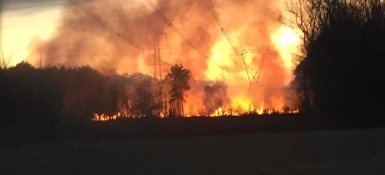 Aperto il periodo di alto rischio incendi boschivi