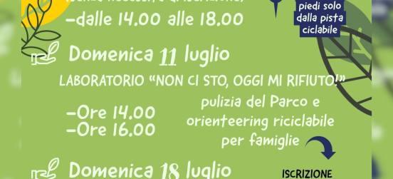 ATTIVITÀ DI EDUCAZIONE AMBIENTALE DEL 10-11 LUGLIO E 17-18 LUGLIO