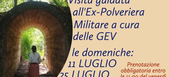 VISITE GUIDATE EX POLVERIERA MILITARE