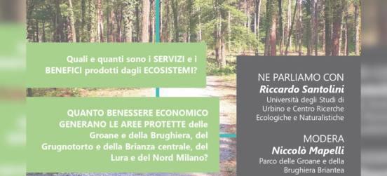 """Evento online: """"IL CAPITALE NATURALE: dal Lura alle Groane, dal Seveso al Parco Nord"""" ."""